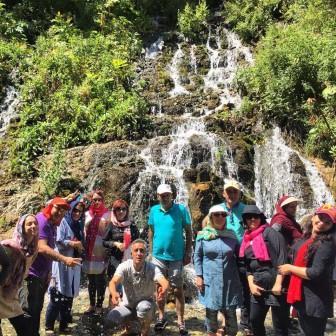 تور هفت چشمه آبشار ارنگه