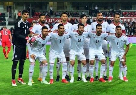 عکس تیم برای ایران