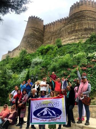 تور لرستان بروجرد آبشار بیشه تور قلعه فلک الافلاک