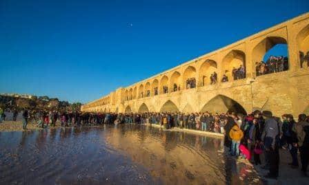 تور زمینی اصفهان زاینده رود سی و سه پل