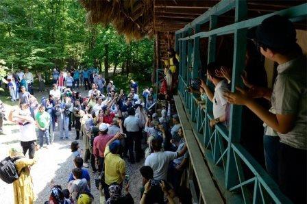 موزه میراث روستایی گیلان در سراوان همراه با ریل گردی قطار گردشگری گیلان